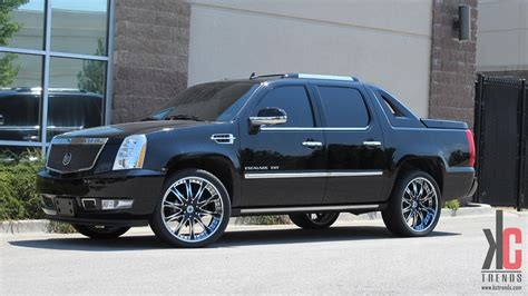 Cadillac On Rims by Custom Cadillac Escalade Ext On Rims Escalades