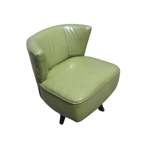 swivel slipper chair mid century modern green swivel slipper chairs ebay