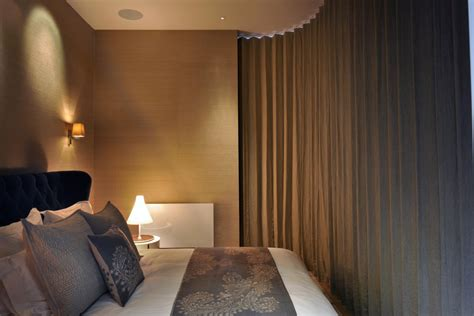Bedroom Interior Design bedroom curtain st pancras penthouse apartment in london