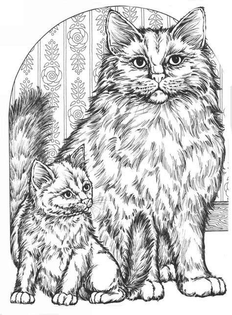 cat for adults антистресс раскраски для взрослых кошки подборка 1