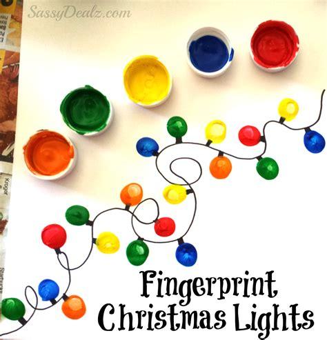 fingerprint crafts for fingerprint light craft for diy