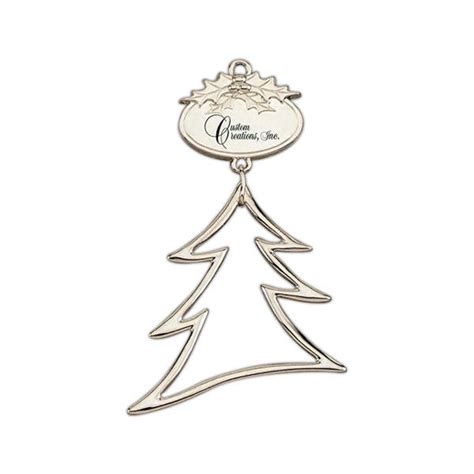 personalized silver ornaments personalized tree ornaments silver tree