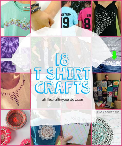 t shirt crafts projects 18 t shirt projects a craft in your daya