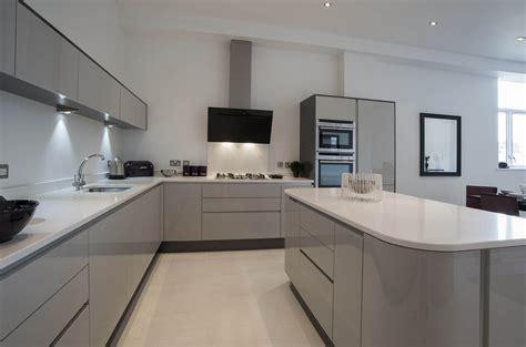 light gray kitchens kitchen acrylic light grey panorama kitchens