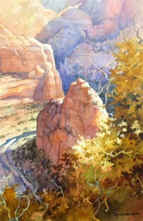 zion acrylic painting 1477 best images about watercolor illustration