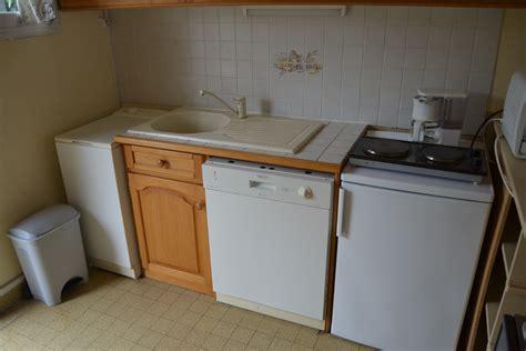 meubles bas de la cuisine lave linge lave vaisselle et r 233 frig 233 rateur avec 2 plaques