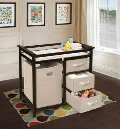changing table station badger basket modern changing table with