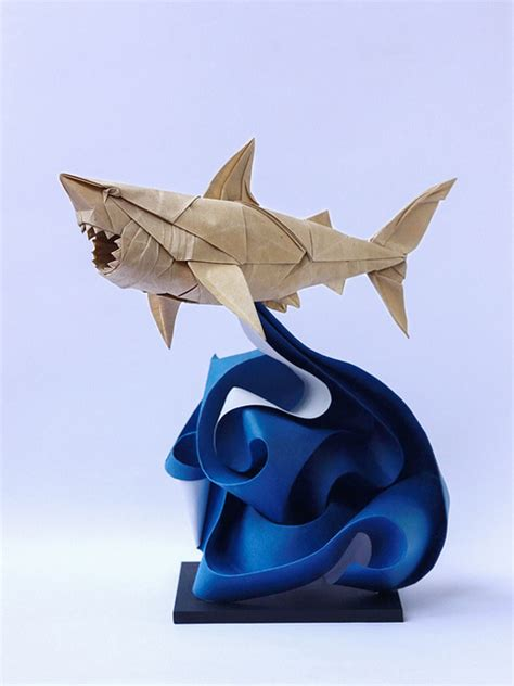 tough origami beautiful folded paper by origami artist