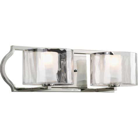 home depot bathroom lights progress lighting collection 4 light brushed