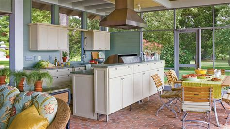 southern living kitchens ideas ultimate outdoor kitchen design ideas southern living