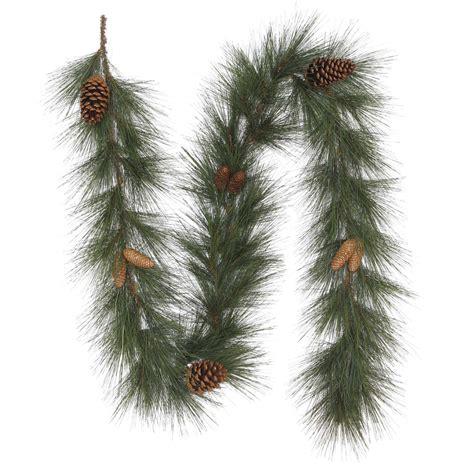 needle pine garland trim a home 174 8 richardson needle garland with pine