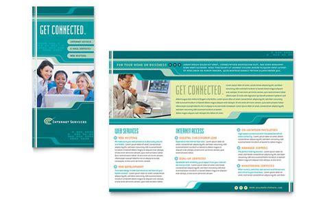 fitness flyer template internet service provider brochure template design