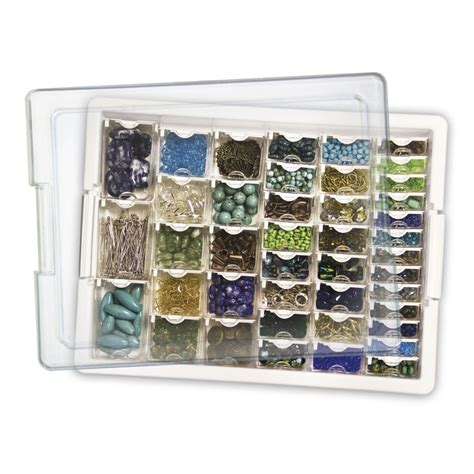 beading storage assorted bead storage tray tray and assorted boxes