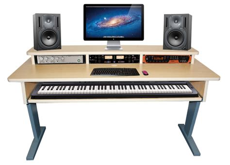studio desk az 2 maple keyboard studio desk