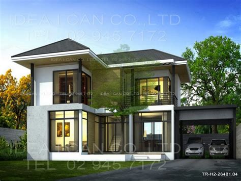 2 story home plans modern two story house plans