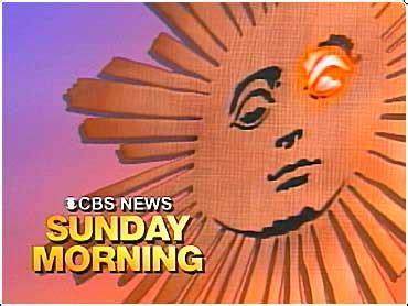 Day 12 Cbs Sunday Morning Show Tobi Fairley