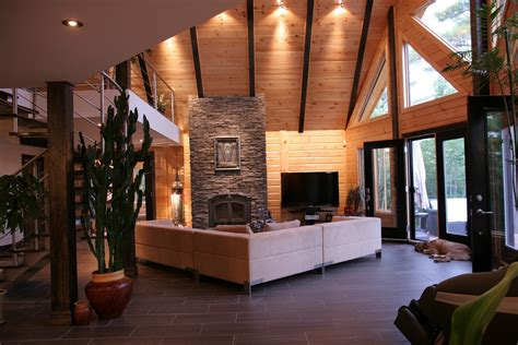 log cabin interiors for the most comfortable log cabin at home homestylediary