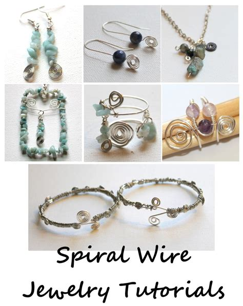 how to make metal jewelry charms spiral wire charm tutorial emerging creatively jewelry