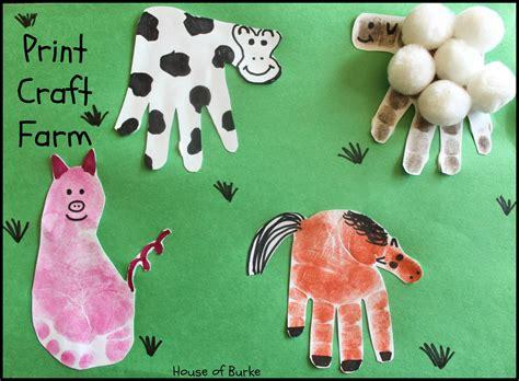farm animal crafts for print craft farm house farms and prints