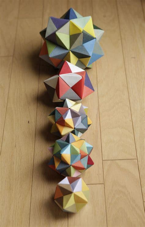 modular origami octahedron boucles d oreilles origami bo origami bijou origami
