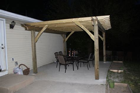 how to build a pergola on concrete patio how to build a pergola in two days on a budget detailed