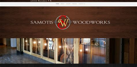 woodworkers web samotis woodworking coffee web design
