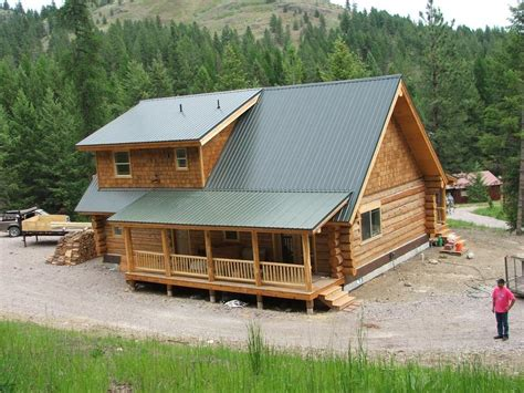 600 Sq Feet log house kits