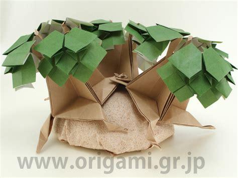 modular origami tree origami tanteidan magazine volume 26 issue 151 156