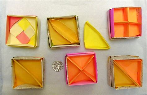 origami box with divider origami box dividers by wombat1138 on deviantart