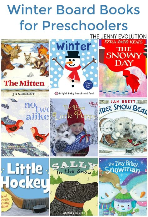 winter picture books winter board books for preschoolers the evolution