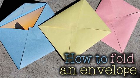 how to make envelopes for cards how to make an envelope any size