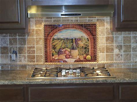 kitchen tile murals tile backsplashes decorative tile backsplash kitchen tile ideas tuscan wine ii tile mural