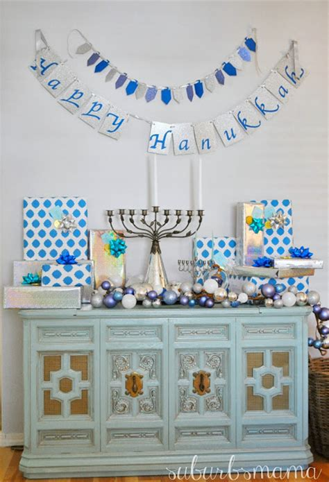hannukah decor suburbs hanukkah decor 2013