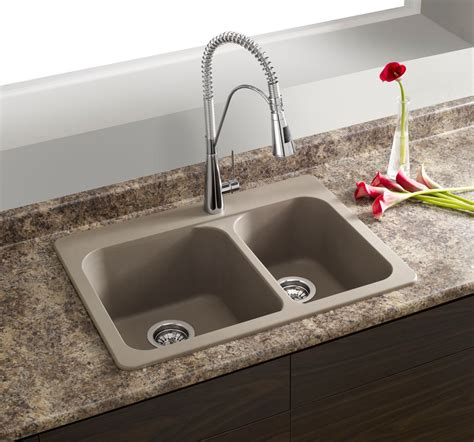 kitchen sinks granite composite blanco silgranit granite composite topmount