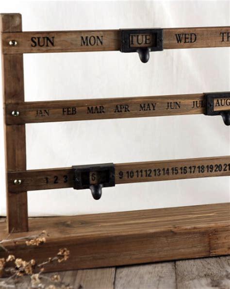 woodworking calendar wood perpetual calendar 22in