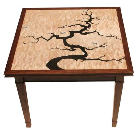 inlay woodworking inlaid occasional tables woodworking