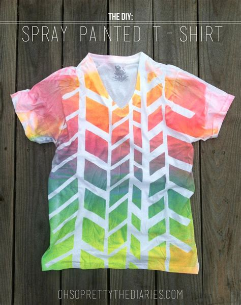 spray paint t shirts the diy spray painted t shirt hey wanderer