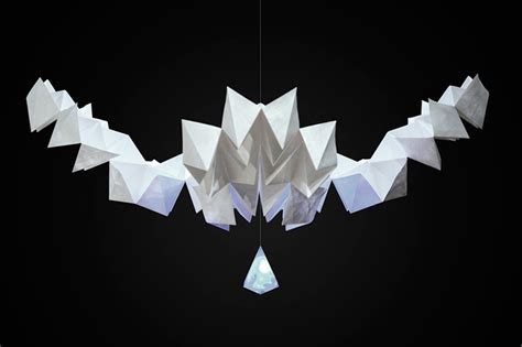 interactive origami mixmotion presents kamiko an interactive kinetic
