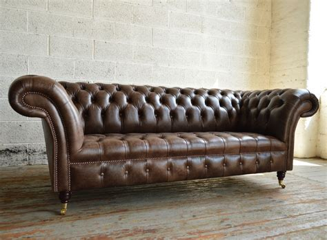 what is chesterfield sofa montana leather chesterfield sofa abode sofas