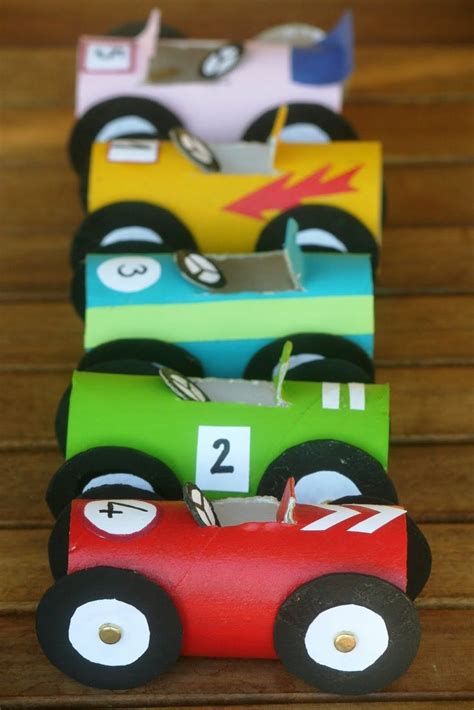 car craft for toilet roll race cars craft ayurveda