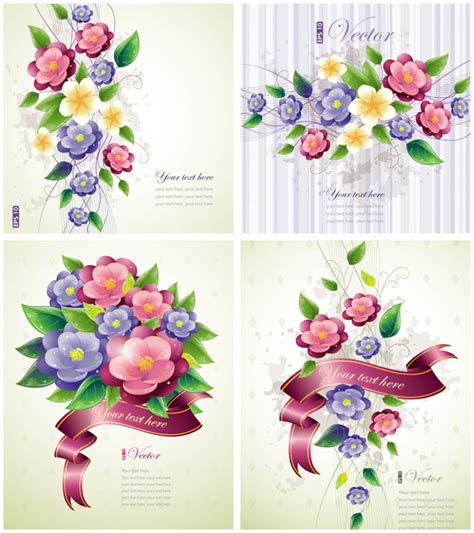 flower templates for card free vector graphics vector graphics page 109
