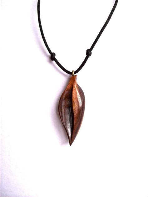 wood for jewelry wood jewelry wood pendant wooden leaf pendant wood leaf