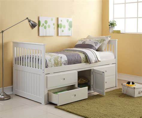 white captains bed the porto captains bed single white captains storage bed