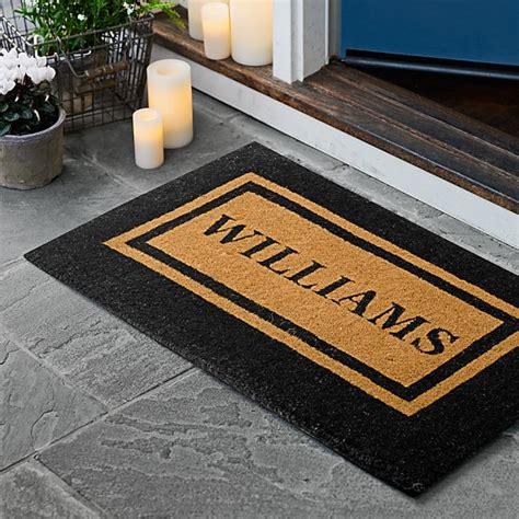 rubber st border door mat classic paisley border doormat