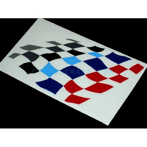 Bmw Flag by Bmw Motorsport Checkered Flag 6inch Decal Style 4 X 2 Pcs