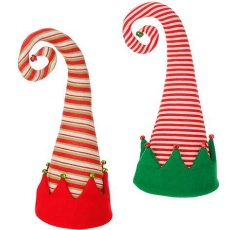 elves hats hat decoration by raz imports