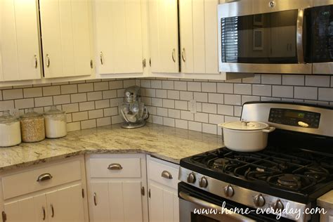 Kitchen Countertops Without Backsplash how to install a tile backsplash without thinset or mastic