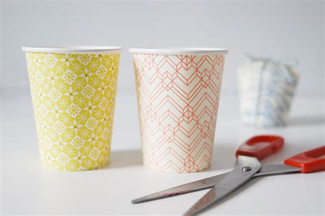 paper mashing craft paper cup gift boxes