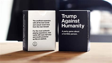 against humanity cards against humanity and hating on donald