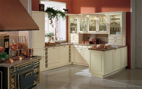 kitchen wall color with white cabinets pictures of kitchens traditional white antique